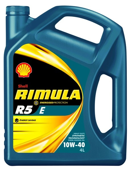 Shell Rimula R5 E 10W-40 Масло моторное  4л